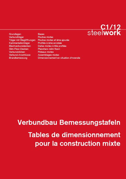 C1/12 Verbundbau Bemessungstafeln steelwork