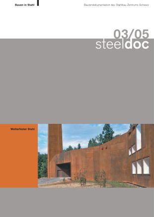 03/05 Wetterfester Stahl - Bauen in Stahl