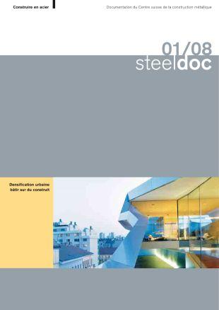 01/08 Densification urbaine bâtir sur du construit - Construire en acier - steeldoc