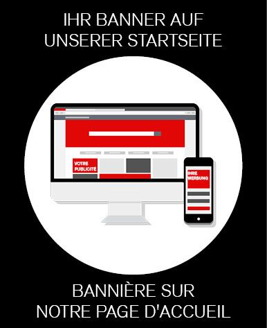 Bannerwerbung Startseite Homepage SZS
