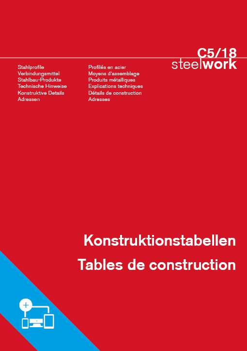 C5/18 Konstruktionstabellen steelwork